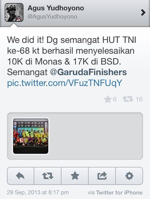 twit agus yudhoyono
